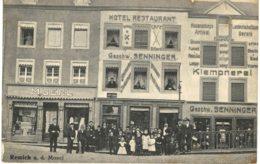 Remich A. D. Mosel  Hôtel Restaurant Senninger Boutique M Berl - Remich