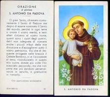 Santino - S.antonio Da Padova - 41 - Fe1 - Images Religieuses