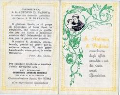 Santino - S.antonio Da Padova - Fe1 - Images Religieuses
