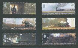 GRANDE-BRETAGNE - 2004 - Yvert  2512/2517 - NEUFS ** Luxe MNH - Série Complète 6 Valeurs - Trains, Locomotives - Ongebruikt