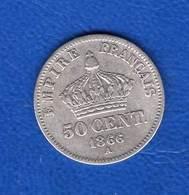 50  Cts  1866 A - G. 50 Centesimi