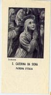 Santino - S.caterina Da Siena - Patrona D'italia - Fe1 - Images Religieuses