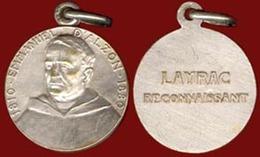 ** MEDAILLE  EMMANUEL  D' ALZON  1810 - 1880  -  LAYRAC ** - Religione & Esoterismo