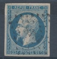 N°10  NUANCE ET OBLITERATION. - 1852 Louis-Napoleon