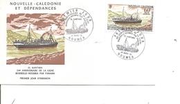 Bateaux = ElKantara ( FDc De Nouvelle=Calédonie De 1973 à Voir) - Bateaux