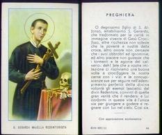 Santino - S.gerardo Majella - Redentorista - Fe1 - Images Religieuses