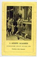 Santino - S.giuseppe Calasanzio - Fe1 - Images Religieuses