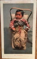 """Cpa, USA, CANADA, """"ANTICIPATION"""", INDIENS, Photographie Fantaisie, écrite Montreal En 1904 - Indiens De L'Amerique Du Nord"""