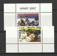 SURINAM SURINAME 2007 UPAEP,CHILDREN,EDUCATION SET MNH - Surinam