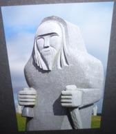 Carte Postale - La Valée Des Saints (Carnoët, Côtes D'Armor) Ronan (Sculpteur Philippe Leost 2013) - Advertising