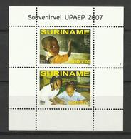 SURINAM SURINAME 2007 UPAEP,CHILDREN,EDUCATION SHEET MNH - Surinam