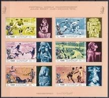 1970Yemen (Arab R. YAR )1166-1171KLb1970 World Championship On Football Of Mexico11,00 € - 1970 – Mexico