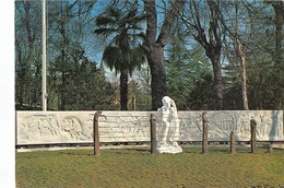 """3477 """" RIVOLI TORINESE-MONUMENTO ALLA RESISTENZA(NEL PARCO DEL NUOVO MUNICIPIO """"-CART. POST. ORIG. NON SPED. - Rivoli"""