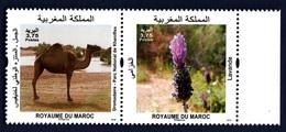 Morocco, 2018. Flore E Faune Du Maroc- Full Set. MintNH. - Stamps