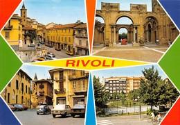 "3487 "" RIVOLI(TO) "" 4 VEDUTE - CART. POST. ORIG. NON SPED. - Rivoli"