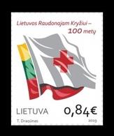 Lithuania 2019 Mih. 1313 Red Cross Of Lithuania MNH ** - Lituania