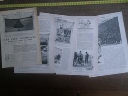 1906 JST LES JO JEUX OLYMPIQUES RENDEZ VOUS SPORTIF DES RACES - Collections