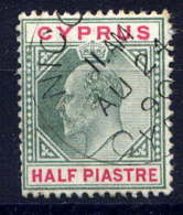 CHYPRE - 34° - EDOUARD VII - Cyprus (...-1960)
