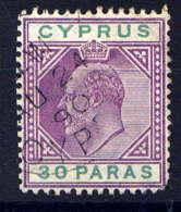 CHYPRE - 35° - EDOUARD VII - Chypre (...-1960)