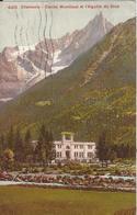 74 CHAMONIX MONT BLANC CASINO MUNICIPAL AIGUILLE DU DRU CARTE COLORISEE Editeur  PHOTOGLOB 4461 - Chamonix-Mont-Blanc