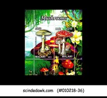 MALAWI - 2011 MUSHROOM - MINIATURE SHEET MINT NH - Malawi (1964-...)