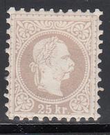 1867-80 Yvert Nº 38  MH, - Nuevos