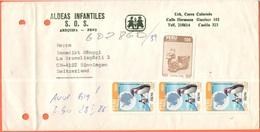 PERU - 1986 - 500 Cultura Wari + 3 X Fauna, Pinguino (Stamps Not Canceled) - Aldeas Infantiles S.O.S. - Viaggiata Da Are - Perù