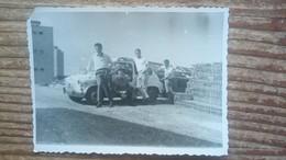 Zastava 750 Fica Building Site Vintage Car Original Photo 1960' - Automobiles