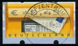 BRD ATM 2002 Nr 5-1-0045 Gestempelt X974126 - Automatenmarken