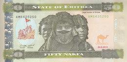ERITREA 50 NAKFA 2011 P-9 UNC */* - Eritrea