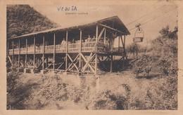 PALAZZAGO-BERGAMO-CAVA QUARZITE GEOMETRA ROSSI G.DANTE-VEDERE RETRO-CARTOLINA NON VIAGGIATA ANNO 1925-935 - Bergamo