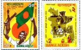 Ref. 290082 * MNH * - BANGLADESH. 1981. 10th ANNIVERSARY OF  INDEPENDENCE . 10 ANIVERSARIO DE LA INDEPENDENCIA - Bangladesh