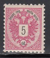1883  Yvert Nº 42  MH - Nuevos