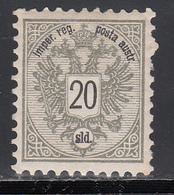 1883  Yvert Nº 44  MH - Nuevos