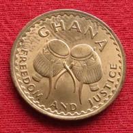 Ghana 1/2 Half Pesewa 1967 KM# 12 Gana - Ghana