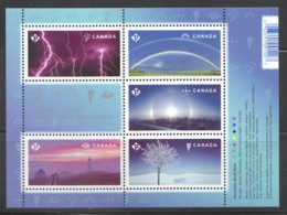 2015  Weather Wonders - Souvenir Sheet Of 5 Different - C 2838 ** MNh - 1952-.... Reign Of Elizabeth II