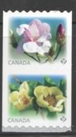 2013  Magnolias  SE-tenant Pair Of Coil Stamps  Sc 2622-3 ** MNH - 1952-.... Reign Of Elizabeth II