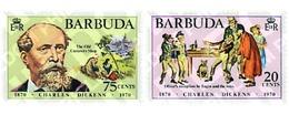 Ref. 38926 * MNH * - BARBUDA. 1970. CENTENARY OF THE DEATH OF CHARLES DICKENS . CENTENARIO DE LA MUERTE DE CHARLES DICKE - Antigua & Barbuda (...-1981)