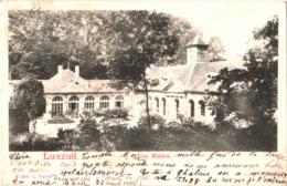 CPA 70 (Haute-Saône) Luxeuil-les-Bains - Les Bains / Les Thermes TBE Précurseur 1902, éditeur Valot - Luxeuil Les Bains