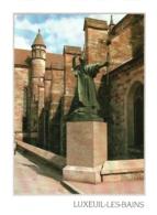 CPM 70 (Haute-Saône) Luxeuil-les-Bains - Statue De Saint-Colomban TBE - Luxeuil Les Bains