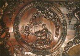 CPM 70 (Haute-Saône) Luxeuil-les-Bains - Médaillon De La Console D'orgue De La Basilique, Sainte-Cécile TBE - Luxeuil Les Bains