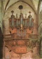 CPM 70 (Haute-Saône) Luxeuil-les-Bains - Le Grand Orgue De La Basilique Et Sa Console TBE - Luxeuil Les Bains