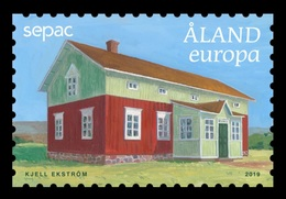 Aland 2019 Mih. 472 SEPAC. Old Residential Buildings. Manor House Of Jonesas Farm In Onningeby MNH ** - Aland
