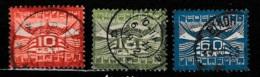 1921 Luchtpost NVPH LP1-3 Gestempeld/ Cancelled - Luchtpost