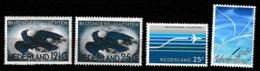 1938+1953 Luchtpost NVPH 11+14-16 MH/*/ongestempeld - Luchtpost