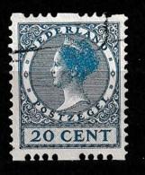 1925 Tweezijdige Roltanding 20 Ct Zonder Watermerk NVPH R13 - Booklets