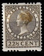 1926 Tweezijdige Roltanding 22,5ct Met Watermerk NVPH R27 MH/*/Ongestempeld - Booklets