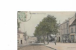Sarcelles En 1906...Entrée Du Village ...Voir Scan - Sarcelles