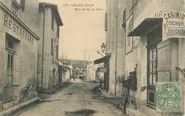 """CPA FRANCE 06 """"Golfe Juan, Avenue De La Gare"""" - Autres Communes"""