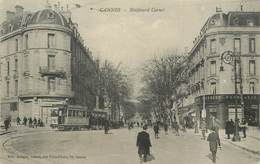 """CPA FRANCE 06 """"Cannes, Le Bld Carnot"""" - Cannes"""